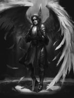Commission - Angel by L3monJuic3