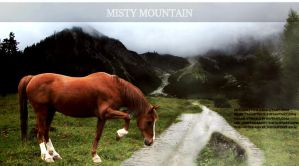 Misty Mountain  by SatinWings