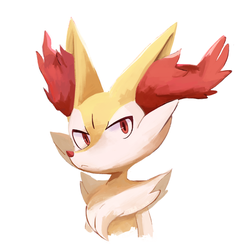 Braixen by TheRealBlueFox
