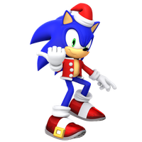 Christmas Sonic Render 2017 by JaysonJeanChannel
