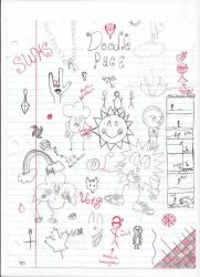 Doodle Page 1 by animeismysoul
