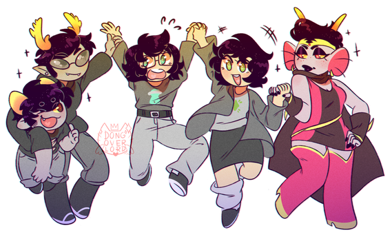hiveswap by dongoverlord