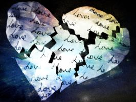 broken heart by Baghindi-Photography
