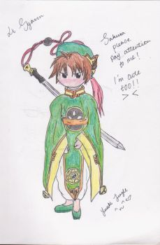 Commission or Art Trade: Li Syaoran by YuukiCrossKisa-VK