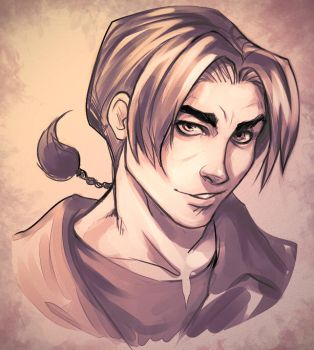 Jim Hawkins - Treasure Planet by DocWendigo