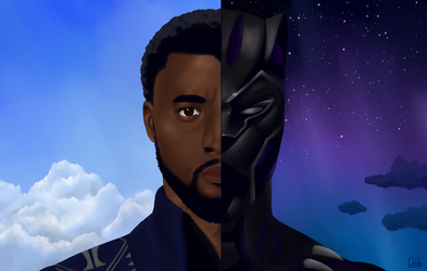 T'Challa | The Black Panther by They-Call-Me-Oddy