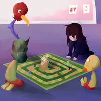Petscop Boardgame by t8o8b