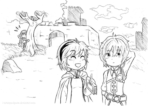 (Request) Nino and Kliff by TioTonyRedgrave