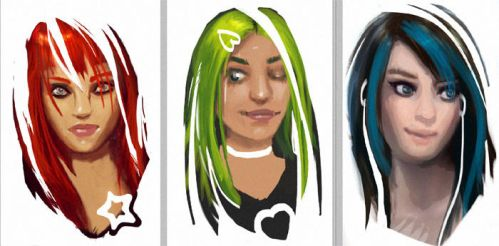 Girl Colors RGB by ftourini