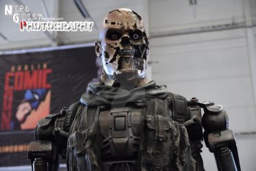Terminator at Dublin Comic Con 2014 by Nerdgeist