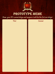AoH: Prototype Meme Template by Ophelion