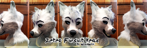 Zetec Fursuit Head by WindWo1f