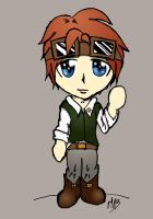 Benjamin chibi coloured by Blakey-mads