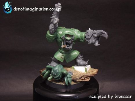 German Orc Warboss (Done) by Brovatar