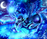 (MLP)Nightmare Moon- A Wish by AquaGalaxy