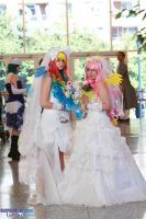 Rainbow Dash Fluttershy Wedding by KyuProduction