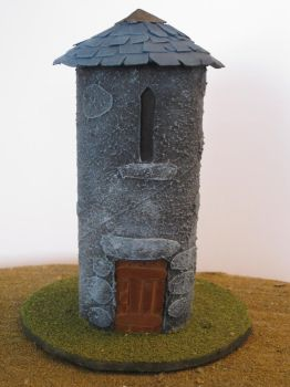 28mm stone tower by GuernseyGoat