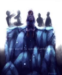 Overwatch - Our World Is Worth Fighting For by Pidoodle