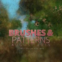 Holiday Art Brushes and Patterns by Jshinncreative