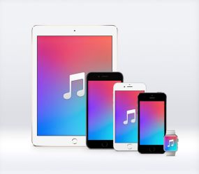 iTunes 13 Wallpapers by JasonZigrino