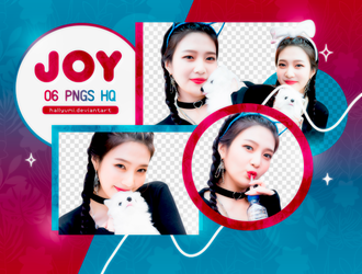 PNG PACK: Joy #1 by Hallyumi