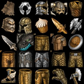 Warcraft 3 Icons by NFWar