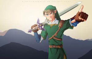 Link, The Hero of TIme by Maggotx9