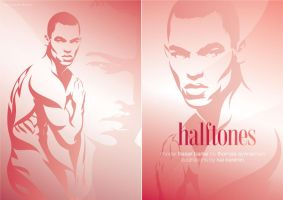 HALFTONES with FRASER BARKE by kaikarenin