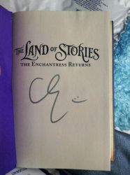 Chris Colfer Autograph!! by 4evaAFanGirl