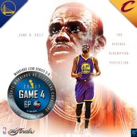 2017 NBA Finals Game 4 Warriors vs Cavaliers by YaDig
