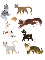 Simple Cats WTA - Free - 1/8 OPEN by PennyADayAdopts