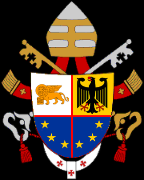 Coat of arms of Pope Mark II by hosmich