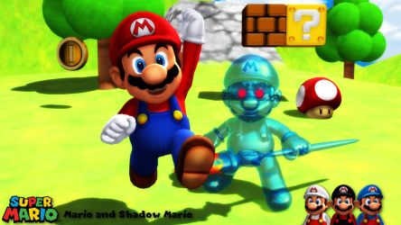 (MMD Model) Mario and Shadow Mario v2.1 Download by SAB64