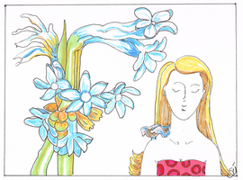 Flowers and Faces- Timeless Tuberose 600dpi by exclusivelysu