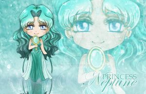 Chibi Princess Neptune by ann4rt