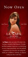 La Napa Banner by Click-Art