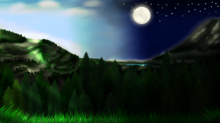 Day and night (Request) by Lestorest