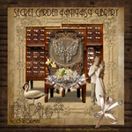 Secret Garden Aniversary Library by TheAngeldove