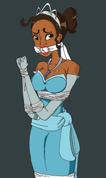 Tiana bound up by REDdumpster
