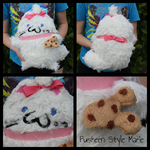 (The Aristocats) Pusheen Style Marie Plush Toy by KrazyKari