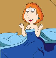 Lois Griffin - naughty after.. by MaxHill