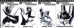 IDW Limited Sketch Covers by LivioRamondelli