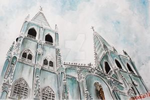 San Sebastian Church by migzmiguel08