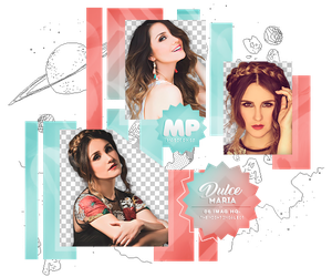 PACK PNG 1118| DULCE MARIA. by MAGIC-PNGS