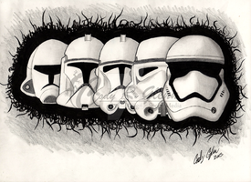 Evolution: The Trooper by Solipsis13
