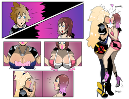 Sora and Kairi Happily Ever After! by DarkMoney1