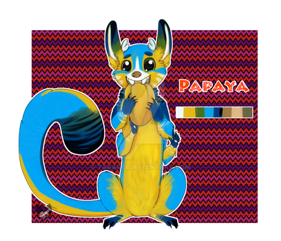 Papaya the Impurr by Takarti