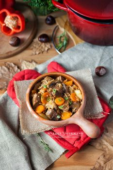 Beef stew with vegetables. by MirageGourmand