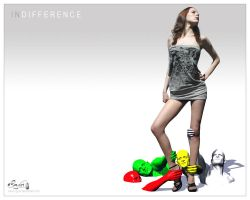 INDIFFERENCE by cg-art