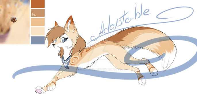 Wolf Adoptable Auction [Close] by ElisaWind
